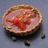 Tartelettes au pamplemousse rose