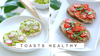 2 toasts healthy by Alice Esmeralda
