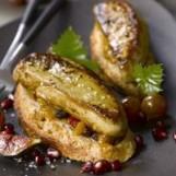 Les tartines d'automne au foie gras poêlé