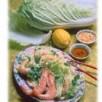 Salade de chou chinois aux crevettes