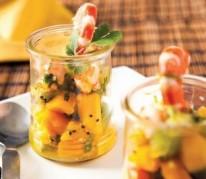 tartare-kiwi-et-mangue-aux-crevettes