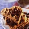 Gaufres au chocolat et à la coriandre