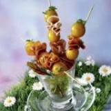 Tartare de mirabelles à la bergamote