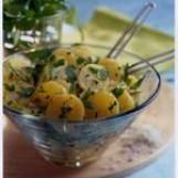 Salade minceur de pommes de terre de l'ile de ré aux fines herbes