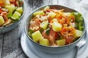 salade-de-pommes-de-terre-primeurs-crabe-pamplemousse-carotte-persil