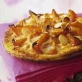 Tarte fine d'abricots à la crème pâtissière