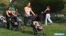 Fitness Poussette : Cardio cuisses et fessiers