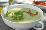 veloute-de-haricot-vert-copeaux-de-jambon-cru-seche