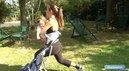 Fitness Poussette : Fentes avec bébé