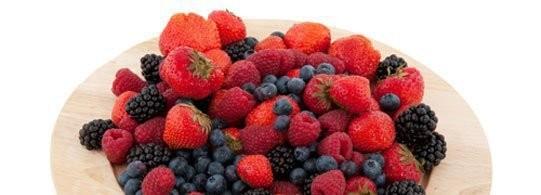 Recette fruits rouges