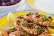Crevettes à l'oranaise