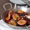 Poêlée de prunes à la fleur d'oranger et à la vanille