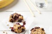 cookies-de-flocons-d-avoine-bananes-et-cranberries