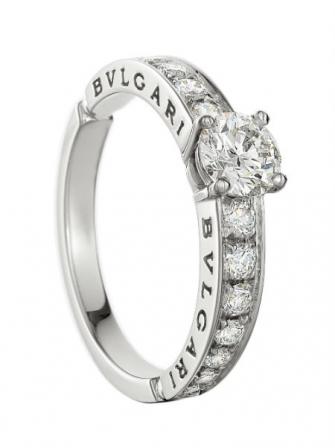 167 bague de fiançaille diamant bulgari 2014 bague dedicata a venezia ...