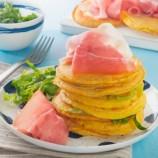 mini-pancakes-de-thym-au-jambon-de-parme