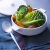 Potée légère au chou, carottes et saucisse de Morteau