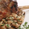 Gigot de mouton aux haricots tarbais
