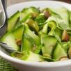 Courgettes rôties aux amandes et olives