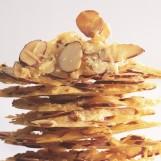 Croustillant d'amandes au parmesan