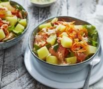 salade-de-pommes-de-terre-primeurs-crabe-pomelo-carotte-et-persil