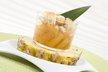 Crumble d'ananas au caramel et vanille bourbon