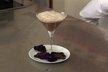 Cappuccino au chocolat et nuage d'orchidée