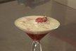 Jus de fraise, fraises gariguette, émulsion à la vanille