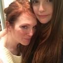Liv Helen et Julianne Moore