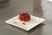 Tarte fine sablée aux fraises et pistaches