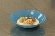 Saint-Jacques rôties, jus de poulette émulsionné