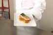 Pavé de saumon, sifflets de carottes fondantes au citron