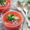 Gaspacho tomate-coco
