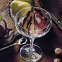 Dessert léger : Poires au chocolat et cannelle