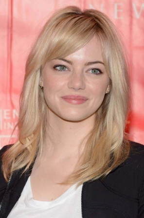 blond platine cendr emma stone diaporama beaut doctissimo