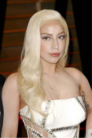 couleur de cheveux blond platine lady gaga - Coloration Cheveux Blond