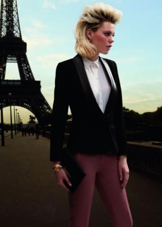 cheveux couleur blond cendr dessange 2014 - Jacques Dessange Coloration